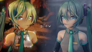 [MMD Collab] glow [YYB式初音ミク]