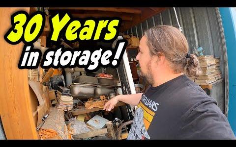 【开箱】买下30年的仓库看有什么好东西|仓库拍卖