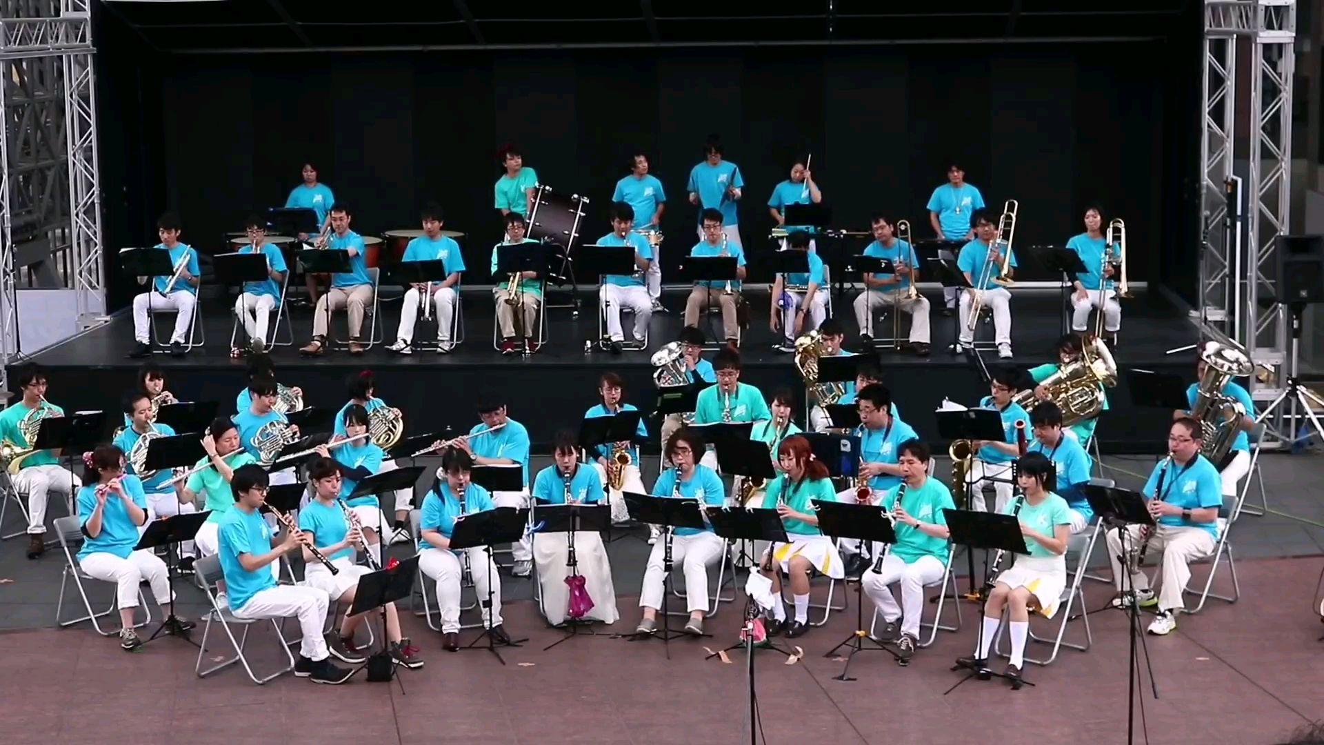 【吹奏乐】第36回吹奏乐日北宇治高校OB吹奏乐团演奏《DREAM SOLISTER》《宝岛》