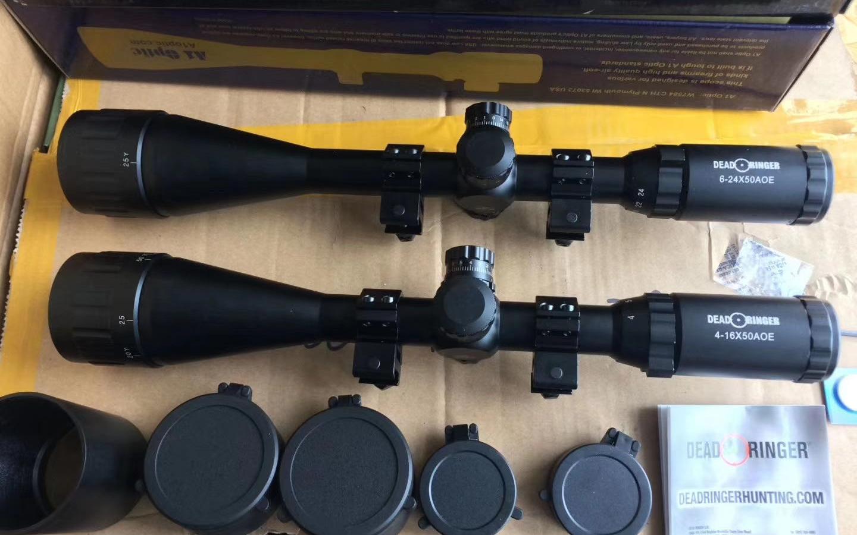 军规测距分化4-16倍瞄准镜