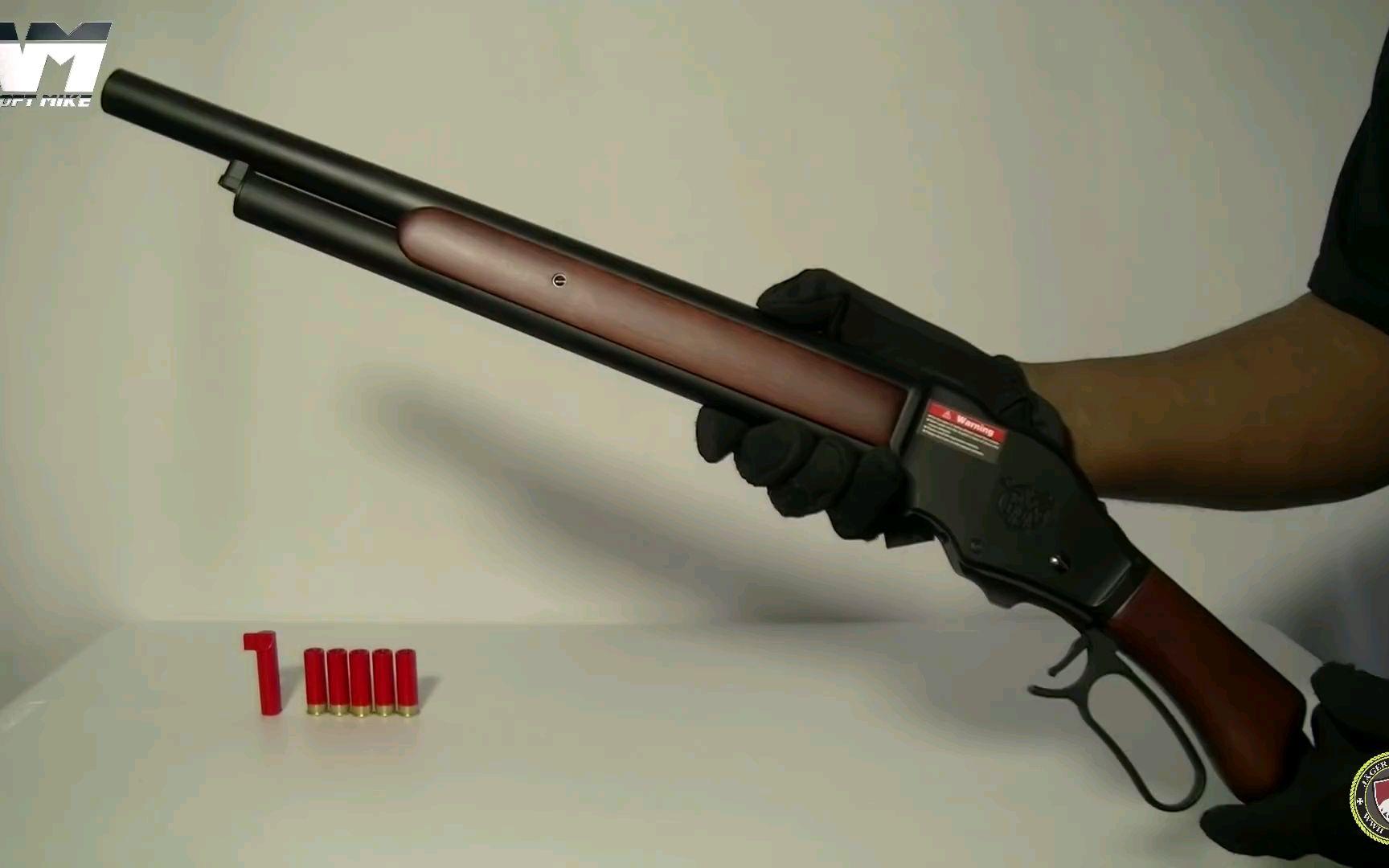 【Airsoft Mike】S&T 温彻斯特M1887 玩具枪测试