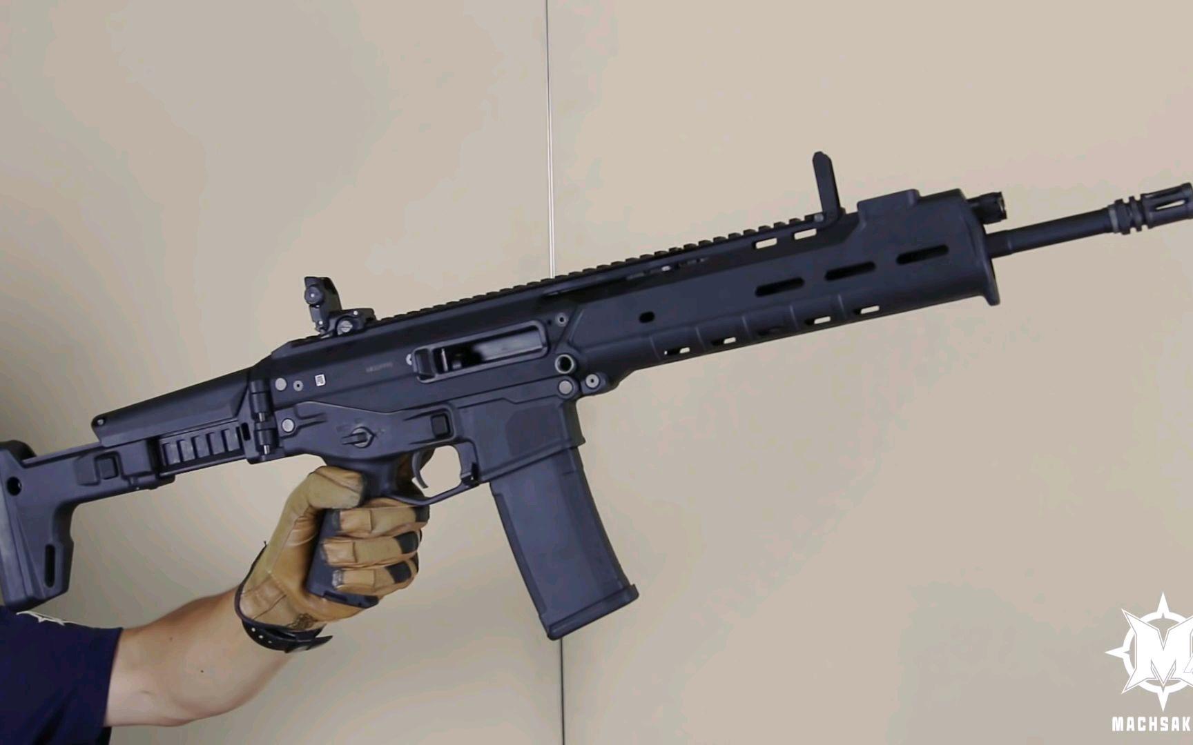 【壕堺大叔】KSC PTS MASADA气动玩具枪测试