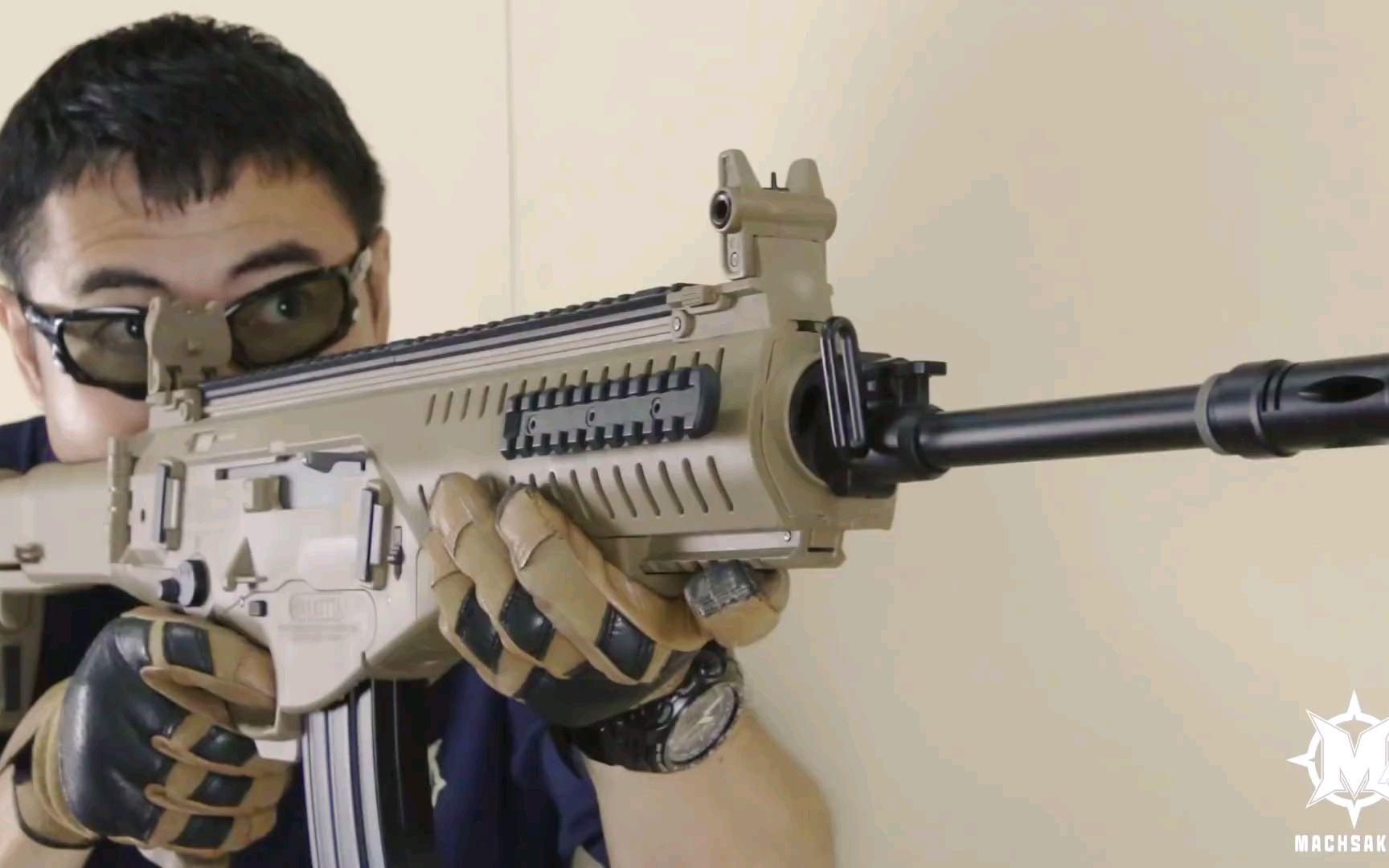 【壕堺大叔】S&T ARX160电动玩具枪测评
