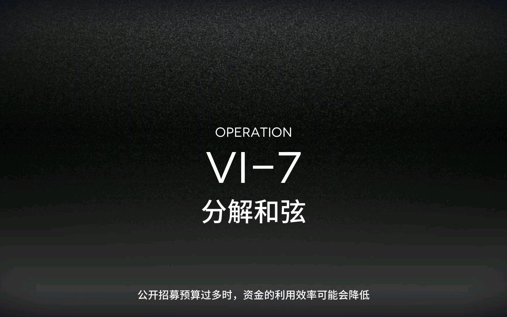 【明日方舟】突袭VI-7堵门