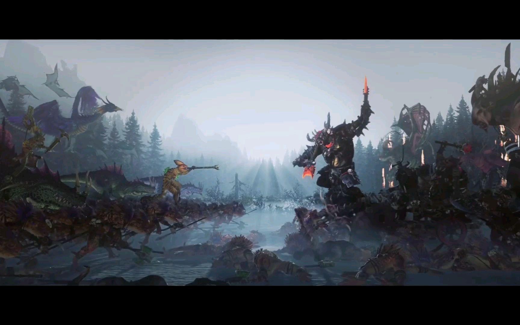 【战锤全面战争2】新DLC完整宣传片:疯语兽、牛头巨人、穴居龙亮相!