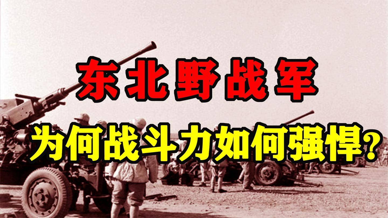 """""""王牌之师"""": 东北野战军为何战斗力如此强悍? 虎将带雄兵!"""