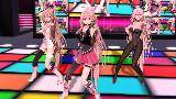 【MMD】イアイア★ナイトオブデザイア - IAx3