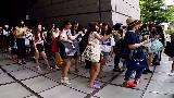 【A社长的日本留学生活纪录】 003 樱花妹子竟好喜欢韩国明星呀 防弹少年团周边排队记