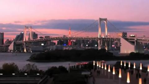 轨道上的东京 【延时摄影+快放】