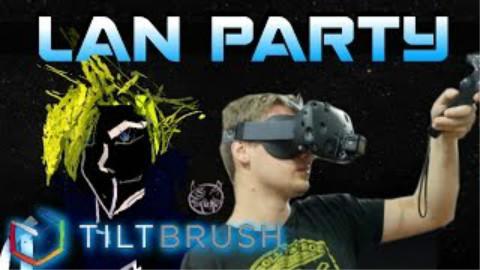 【虚拟现实】VR 作画工具 TILTBRUSH