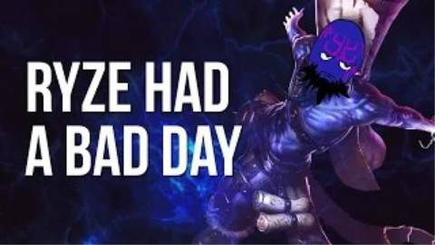 瑞兹糟糕的一天  我只想好好的玩一个游戏