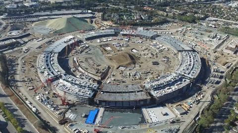 【科客分享】苹果Apple Campus 2明年完工!现在已经这样了