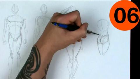 【Gnomon出品】高级动态形体(人体)绘画教程06