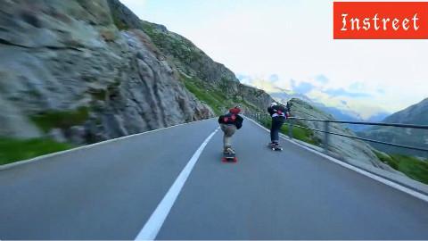 Instreet滑板 极品飞车地形!欣赏这样的长板大片是一种享受