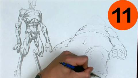 【Gnomon出品】高级动态形体(人体)绘画教程11