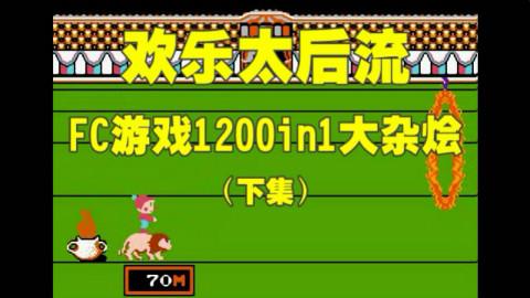 童年!【欢乐太后流】【FC怀旧游戏1200in1】【娱乐解说-下集】