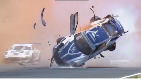 2015年最严重的十大赛车事故