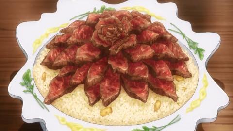 【食戟之灵】A5级和牛盖饭 食材血本 成品高能