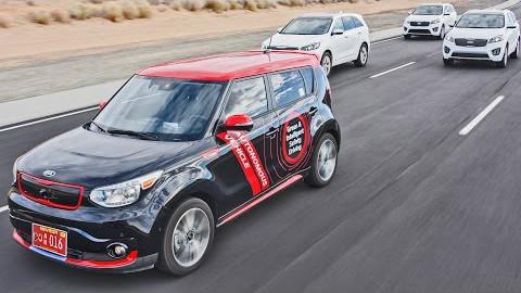 2016 kia自动驾驶汽车测试