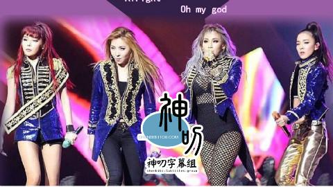 【音乐】2NE1-Fire+我最红【中韩双语】【神叨字幕组】