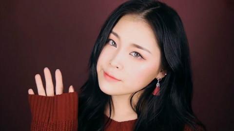 美芽|Leesu气质干玫瑰妆,清爽底妆小技巧!