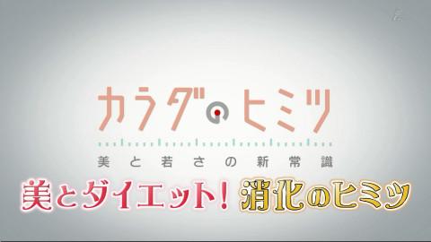 【综艺】【花丸字幕组】【身体的秘密】02 美与减肥 消化的秘密