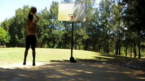 真正的街头篮球训练视频!投篮基础训练