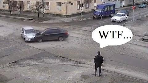 汽车事故大合集~