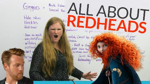 【水星计划】[你的英语课]红头发的世界