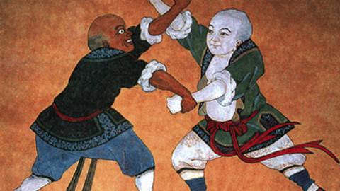 中国武术的瑰宝:中国跤