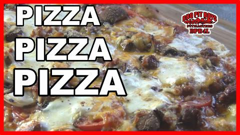 【soso字幕】美国佬土豪BBQ吃法 匹萨披萨比萨 @Sofronio