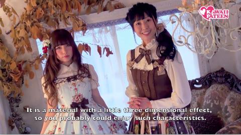 【innocent world纪录片系列】1 可爱的Lolita服饰设计过程