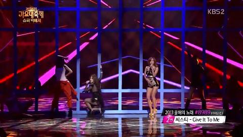 2013KBS歌谣大战—孝琳&Ailee《Telephone》