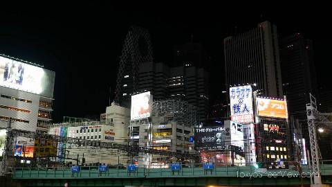 东京街景(六):新宿夜景(2P合)