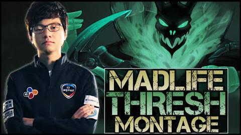 MadLife 精彩操作 - Best Thresh Plays 最强的锤石操作