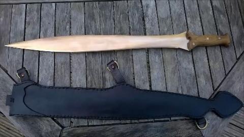 【浇筑】青铜剑