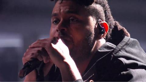 The Hills - The Weeknd - Live at The BRIT Awards