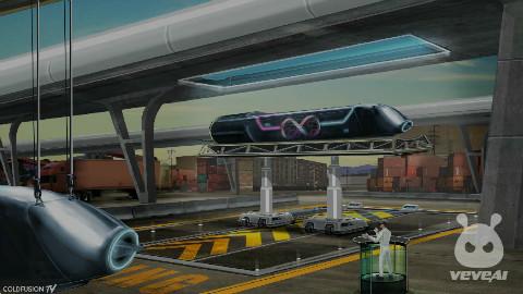 Hyperloop 1000公里小时-地面旅行