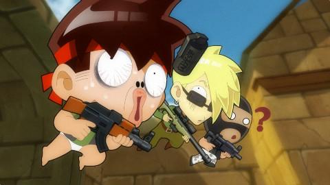 《暴基枪手》 第二集 还记得猪队友扔的闪光弹吗?