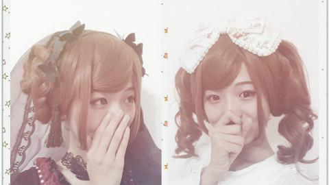 【发型教程】超简单Lolita假发发型