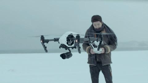 大疆无人机在韩国的宣传片