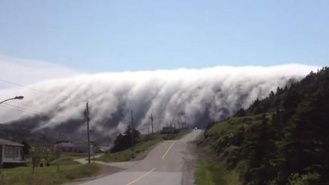 传说中的云瀑
