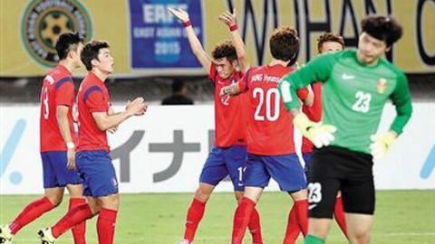 韩球迷热议与中国分同组:首仗赢个10-0