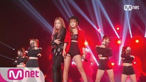 【王牌天使】KCON Japan×M COUNTDOWN 智珉&Heize 消音曲《Puss》