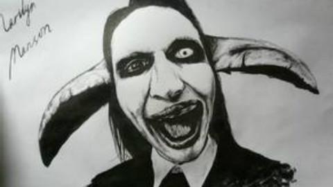 Marilyn Manson - 1995 - Dope Hat