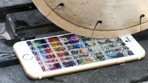 【测试】iPhone 6S能否在钻石切割机下生存?【1080P】