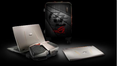 「昊南哥开箱!」啊 原来不到 5w 的水冷笔记本长这样!——ROG GX700VO