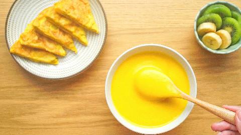 【绵羊料理】蔬菜浓汤&薯片鸡蛋饼的做法