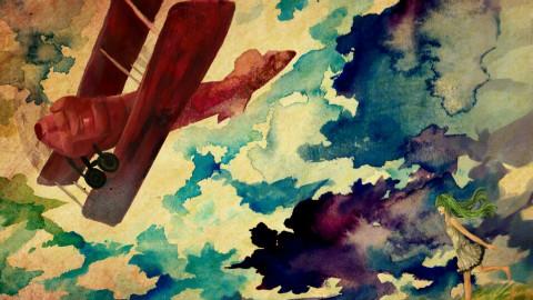 【给正在努力的你】在航迹云中追寻梦想