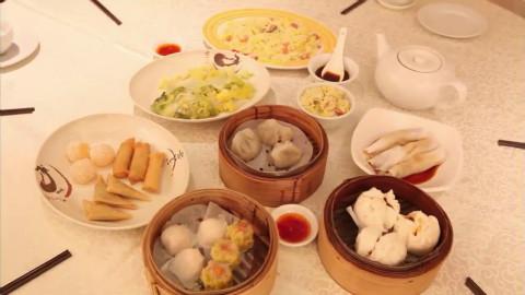 中国餐厅的各种点心~